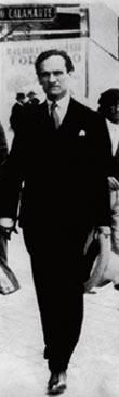 César Vallejo em Madri, 1931