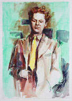 Dylan Thomas, por Richard Wills